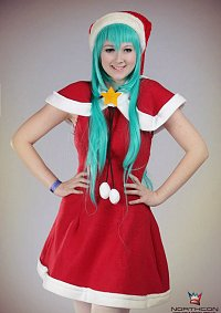 Cosplay-Cover: Miku Hatsune [Project Diva Christmas]