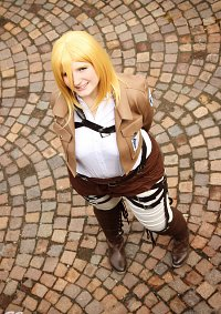 Cosplay-Cover: Christa Renz / Historia Reiss