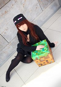 Cosplay-Cover: Enderman female/Enderwoman