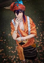 Cosplay-Cover: Sinbad [Backcover]