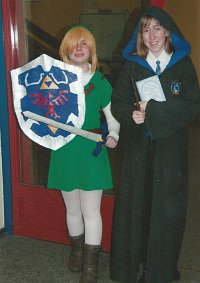 Cosplay-Cover: Ravenclaw Mädchen