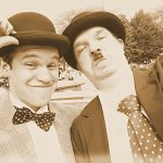 Cosplay: Stan Laurel [Laurel & Hardy bzw. Dick & Doof]