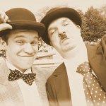 Cosplay: Stan Laurel [Laurel & Hardy bzw. Dick & Doof]