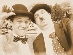 Cosplay-Cover: Stan Laurel [Laurel & Hardy bzw. Dick & Doof]
