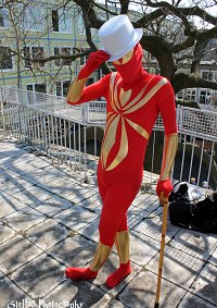Cosplay-Cover: Spider-Man (Iron Spider)