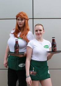 Cosplay-Cover: Sookie Stackhouse (Merlotte's Uniform)