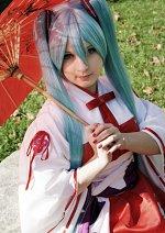 Cosplay-Cover: Hatsune Miku ⌊ Project Diva: Kimono ⌉