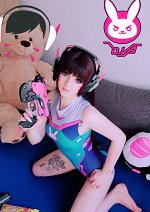 Cosplay-Cover: D.Va ⌊ Swimsuit ⌉