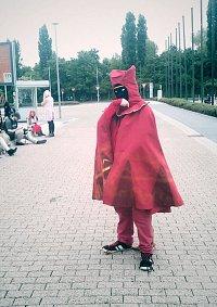 Cosplay-Cover: Reisender in Rot