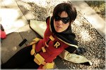 Cosplay-Cover: Robin (Dick Grayson)