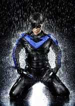 Cosplay-Cover: Nightwing / Dick Grayson (Arkham City)