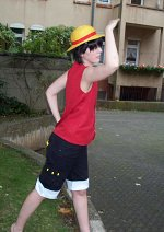 Cosplay-Cover: Luffy (Enies Lobby)