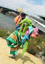 Cosplay-Cover: Fushishi Aragoto - der Kabuki Bisaflor Gijinka