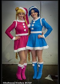 Cosplay-Cover: Bunny Tsukino - Weihnachtskleid