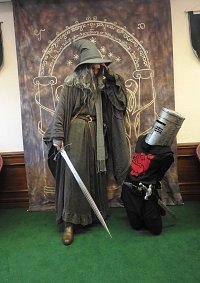 Cosplay-Cover: Black Knight