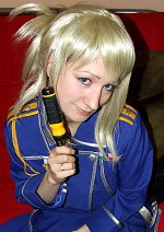 Cosplay-Cover: Windy Rockbell (Militäruniform)