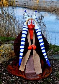 Cosplay-Cover: Jedi-Meisterin Shaak Ti