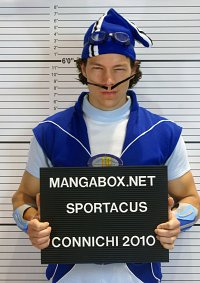 Cosplay-Cover: Sportacus