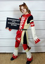 Cosplay-Cover: Mithra Whitemage FFXI