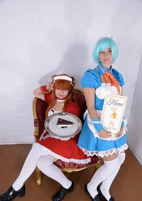 Cosplay-Cover: Maid Rei Ayanami