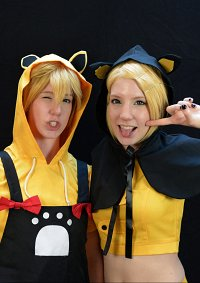 Cosplay-Cover: Kagamine Rin [Halloween Cat Outfit]