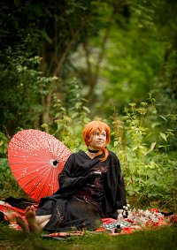 Cosplay-Cover: Chuya ~ black Kimono