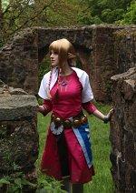 Cosplay-Cover: Zelda (Skyloft)