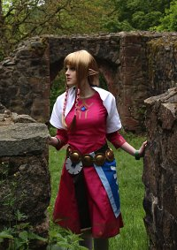 Cosplay-Cover: Zelda (Skyloft)