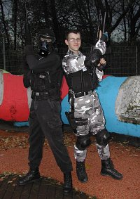Cosplay-Cover: Splinter Cell in Ausbildung (Splinter Cell)
