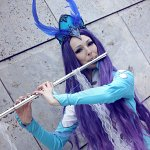 Cosplay: Suicune [Artwork by Cowslip]