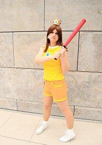 Cosplay-Cover: Prinzessin Daisy [Mario Sports Mix]