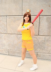 Cosplay-Cover: Prinzessin Daisy [Mario Sports Mix]