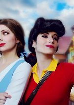 Cosplay-Cover: Gaston (female)