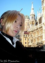 Cosplay-Cover: Edward Elric(Zivil Outfit)