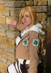 Cosplay-Cover: Annie Leonhardt - Military Police
