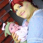 Cosplay: Fiona[Shrek der Dritte]~pregnant