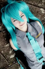 Cosplay-Cover: Miku Hatsune basic