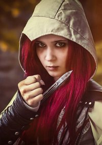 Cosplay-Cover: Ezio (female)