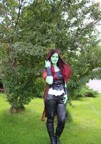 Cosplay-Cover: Gamora