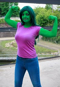 Cosplay-Cover: She-Hulk (Jennifer Walters)