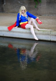 Cosplay-Cover: Supergirl 70's