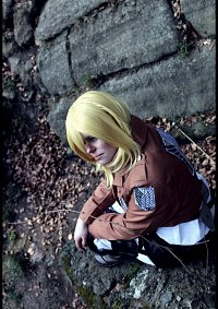 Cosplay-Cover: Christa Renz (Scouting Legion)