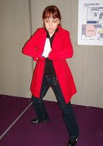 Cosplay-Cover: Red-Haired Edward Elric