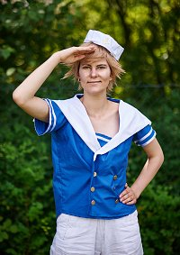 Cosplay-Cover: Dänemark Sailor Version