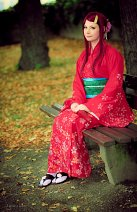 Cosplay-Cover: Kushina Uzumaki [Blumen Kimono]
