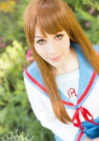 Cosplay-Cover: Mikuru Asahina (School Uniform)