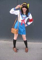 Cosplay-Cover: Suzumiya Haruhi - Schooluniform