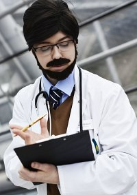 Cosplay-Cover: Dr. John Stangel aka Barney Stinson HIMYM