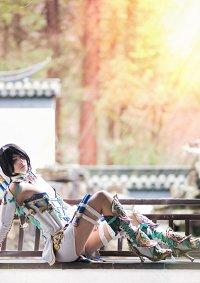 Cosplay-Cover: Shiro yoshiwara white
