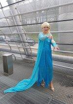 Cosplay-Cover: Königin Elsa von Arendelle